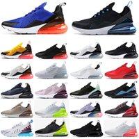 max 270 27c 27s de alta calidad triples negros para hombre zapatos corrientes Bred Negro voltio Platinum Tinte azul foto entrenadores deportivos zapatillas de deporte36-45