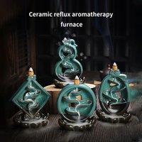 Lotus Pedestal Creative Home Decor Dech Sefow Stick Encens Burneur Centrage Centrier Décoration Utilisez des lampes de parfum de théhouse