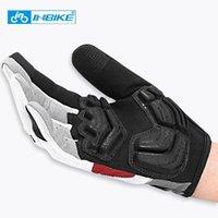 Велосипедные перчатки Inbike 2021 Полнопальный палец На открытом воздухе Спорт Спортивный Горный Велосипед Оборудование Пальцы Сенсорный Экран Гель Мягкие Аксессуары