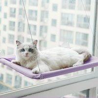 Camas de gato Móveis Hammock para gatos Montagem de janela confortável cama de estimação esteira bonito pendurado conjunto 20kg