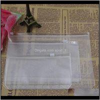 Задача поставляет A5A6A7 прозрачный связующий PVC молнию хранения сумка 6 отверстие водонепроницаемая канцелярская карточка счета сумки офисные путешествия портативный D LR8QH