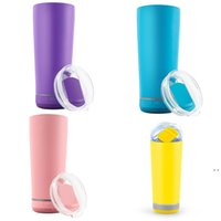 18oz Bluetooth Music Mugs 11 Colors Double Wall Stainless Steel Creative Wine Tumbler With Wireless Speaker Insulated Portable SEA HWC7231