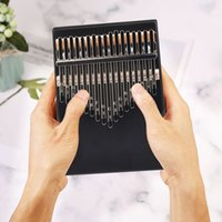 17 Keys Kalimba Thumb Finger Piano Lightweight Pine Wood Musical Instrument Portable Music Elements for Beginner