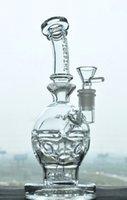 جودة فاب بيضة recycler الزجاج التدخين المياه بونغ أنبوب الشيشة dab تلاعب 14mm مفصل