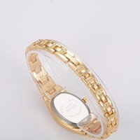 Marcas Famosas Clásico Reloj de Pulera Para Mujer Rose Plated Gold Elegant Bracelet Montres de mode Zegarek Damski Montres-bracelets