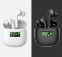 Newest J3 pro tws wireless earbuds bluetooth 5.0 earphone noise cancelling headphones with led display