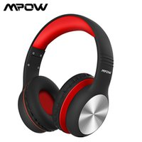 MPOW CH6 Pro Wired Headphones för barn Barn Fällbara överhöriga hörlurar med delning av funktionsvolym Begränsande mikrofon