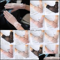 Five Mittens Hats, Scarves & Aessoriesfive Fingers Gloves Summer Fashion Women Female Sexy Thin Touch Screen Lady Uv Non-Slip Silk Lace Driv