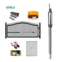 PKM-C01 Single Swing Gate Opener Kit, Hardware Accessories,Control Box Receiver & Pocell Included! Fingerprint Access Control