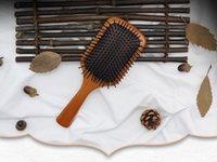 Top Quality Korea Aveda Paddle Brush Brosse Club Massage Spazzole per capelli Pettine Prevenire i capelli trichomadesi