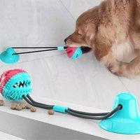 أقفاص الطيور 10 قطع الحيوانات الأليفة الكلب جرو الأسنان تنظيف اللعب الحيوانات الأليفة حبل حبل مضغ مع كأس الشفط للكلاب الصغيرة لعبة
