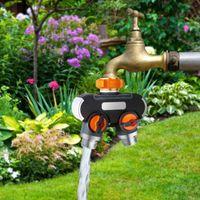Kitchen Faucets Garden Hose Splitter 2 Way Rubberized Tap Connectors Water Distributor Economiseur Eau Robinet Torneira Com Filtro Chuveiro