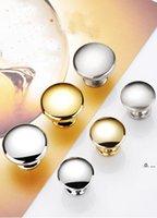 Newknob-Schraube Gold Farbe Mode Türknopf Schubladen Schrank Möbel Griff Knobszieher Möbelzubehör EWA6460