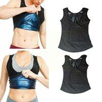 Men's Body Shapers 1pc Multi-size Optional Sweat Sauna Vest Trainer Abdomen Burning Slimming Fitness Shapewear Fat Sportswea J5a3