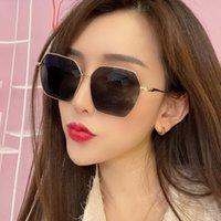Güneş Gözlüğü 2021 Yüz Yeni Stil Gözlükleri Yeni Gözlükler Kore Yuvarlak Kadın Kişilik Retro 915 Sürüm Erkek Sokak Çekim T NBMWU