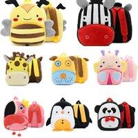 봉제 동물 아기 소녀 배낭 어린이 schoolbag 배낭 키즈 학교 가방 귀여운 지갑 만화 소년 유치원 가방 g52ucdw