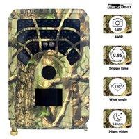 Тропа и игровая камера с 16 ГБ / 32 ГБ TF Card Motion Actived Hunting Открытый Дикая природа Разведка 46 Светодиоды Камеры