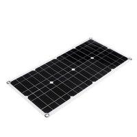 100 W 18 V Çift USB Güneş Paneli -Battery Hücre Modülü Araba Açık Şarj 1 adet
