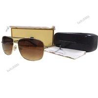 Hohe Qualität Polaroid Sonnenbrille Metallrahmen 6 Arten für Männer und Frauen Four Seasons Brillen mit Box