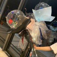 متعدد الألوان اللون الصمام البالونات الجدة الإضاءة بوبو الكرة بالون الزفاف دعم خلفية زينة ضوء bundings حفلات الزفاف ليلة حزب اللوازم صديق هدية