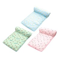Kennels & Pens Cooling Mat For Cat Dogs Floor Mats Blanket Sleeping Bed Cushion Cold Pad Pet Supplie Portable Tour Accessories