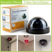 أعلى جودة في الأماكن المغلقة الكاميرا وهمية محاكاة إنذار السرج ردع اللصوص وهمية قبة مراقب أحمر فلاش ضوء الأمن كاميرات IP