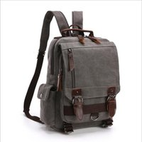 HBP Canvas Women Men Backpack Style Travel luggage Bag Single strap Two Strap Waist bag