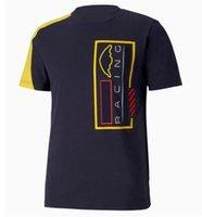 2021 F1 T-shirt T-shirt T-shirt Racing Polo à manches courtes T-shirt T-shirt Team Tee-shirt F1 Car Fan Team Jersey peut être personnalisé d'hommes de grande taille