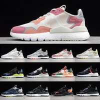 NITE préférentielle Jogger Femmes Hommes Running Shoes Reflectif Xeno Grey Six Volt Hi-Res Mens Entraîneurs Sports Sneakers Sports à pied Jogging