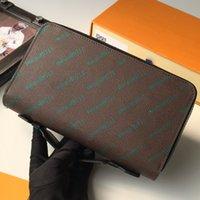 Женские кошелек большие кожаные мужские кошельки Zippy Big Card Holder органайзер дамы путешествий муфты телефона монеты сумка