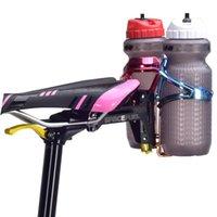 알루미늄 합금 자전거 안장 물병 케이지 홀더 사이클링 MTB 도로 산악 자전거 병 더블 브래킷 케이지
