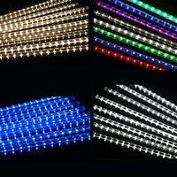 Nouvelle fête 30/50 / 80cm Lampe de douche météores de ménage étanche à LED String lumières décoration de mariage de Noël