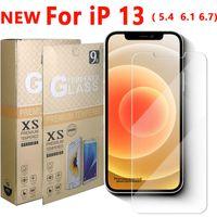 Pellicola proteggi schermo in vetro temperato 2.5D per iPhone 13 12 11 Pro XS X XR Max Samsung S21 S21plus A22 A32 A52 A72 5G A12 A31S A51S A71S LG Stylo 7 6 Stylo7