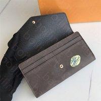 Designer PureWallet Designer Luxury Brand Purse Partihandel Red Bottoms Lady Long Multicolor Coin Card Holder Original Box Women Classic Zipper Pocketlouis Bag