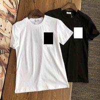 2021 designer de luxo camiseta de moda personalidade homens e mulheres design camiseta mulheres camiseta de alta qualidade preto e branco s-xxl