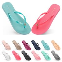 seventy three Slippers Beach shoes Flip Flops womens green y...