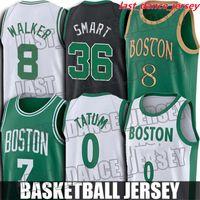 Jayson Jaylen Tatum Brown Jersey Kemba Larry Walker Bird Jerseys Boston셀틱스저지 Gordon Marcus Hayward Smart Jerseys S.
