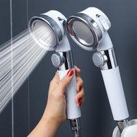 Bad Zubehör Set Druckerzeugung Duschkopf Hochdruck Wassereinsparung perforiert Freie Halterung Schlauch Einstellbar Bad Zubehör Werkzeuge