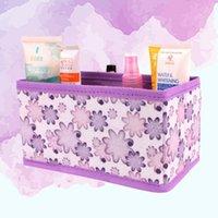 Opbergdozen Bakken Multifunctioneel vouwen Niet-geweven Make Cosmetic Box Organizer Sieraden Container Bag Case)