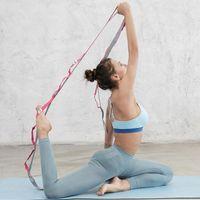 Hobbylane yoga esticando corda formação fitness elástico alça de tensão faixa para faixas de resistência esportiva