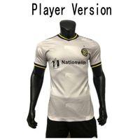 2021 Columbus Crew SC Player Sürümü Futbol Forması # 11 Zardes Jonathan P. Santos Üniforma Mens # 10 Zelarayan Nagbe Futbol Gömlek