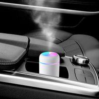 Mini Taşınabilir Ultrasonik Hava Nemlendirici Aroma Uçucu Yağ Difüzör Aromaterapi Mist Maker Ev Araba Yatak Odası Için 3 Renkli USB Nemlendiriciler