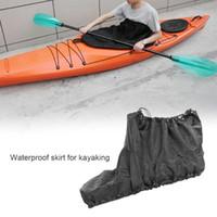 Rafts Inflatable Boats Waterproof Canoe Kayak Nylon Spray Skirt Adjustable Deck Sprayskirt Cockpit Cover Hatch Accessories