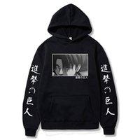 Angriff auf Titan Lustige Cartoon Restore Winter Casual Warme Hoodies Männer Coole Japanische Anime Harajuku Sweatshirt Hip Hop Hoody Männchen