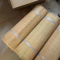 Мебельные материалы 60 см. 15метров Натуральный индонезийский Реальный ротанг квадратная сетка без дырочных шириной: 60 см, леги: 15 метров Использование для стула, гардероба, шкафа, шкафа