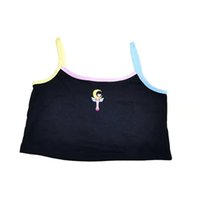 New summer Cute sexy sling Women's Tanks & Camis Relaxed comfortable Fresh and free dynamic Collocation diversification