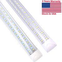 150CM T8 LED tubes V Shaped lamp 2ft 4ft 5ft 6ft 8ft Integrated light Replacement Fluorescent lighting AC85-265V