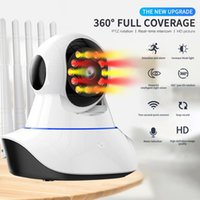 Cameras 720P IP Camera WIFI Wireless Smart IR Night Vision Home Security System Pet Baby Monitor Surveillance Video Camcorders