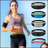 Sports & Outdoorstralight Running Waist Bag With Reflective Strips Men Women Water-Repellent Earphone Adjustable Elastic Strap Outdoor Bags