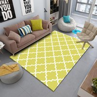 Carpets Rectangle Carpet Room Decor Home Aesthtic Modern Abstract Geometric Luxury Nordic Rugs Living Classic Non-slip Hand Chair